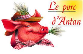 Le porc dantan